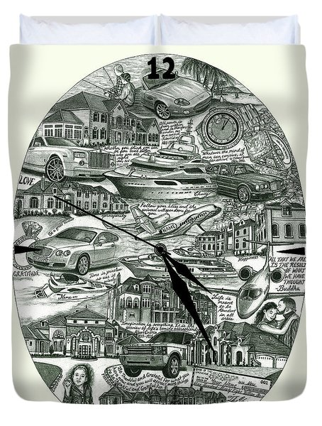 The Law Of Attraction Duvet Cover