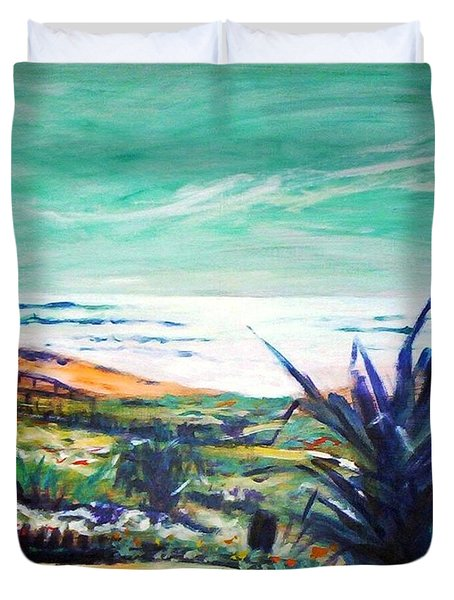 The Lawn Pandanus Duvet Cover