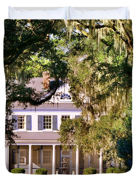 The Legare-waring House At Charles Town Landing Duvet Cover