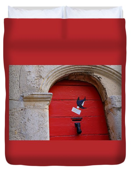 The Letterbox Duvet Cover