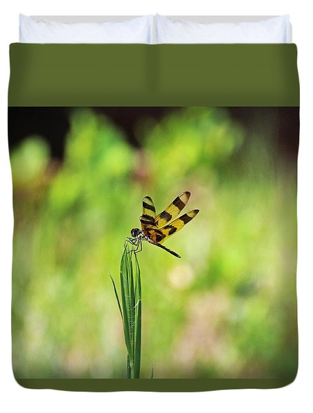 Duvet Cover featuring the photograph The Liberation by Michiale Schneider