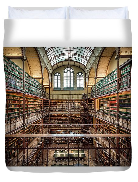 The Library Duvet Cover