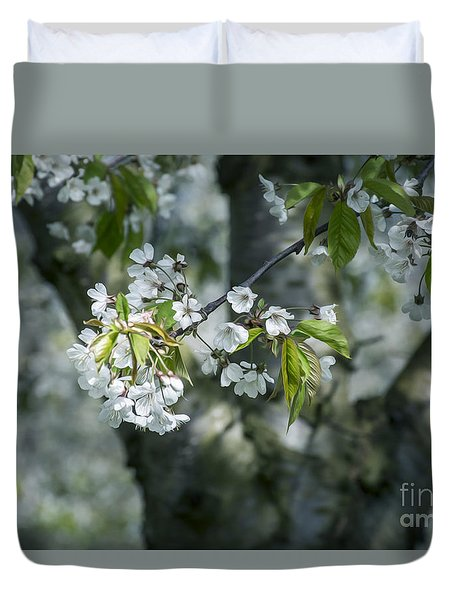 The Life Awakes 9 Duvet Cover
