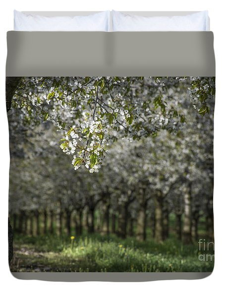 The Life Awakes Duvet Cover