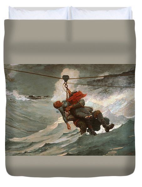 The Life Line Duvet Cover