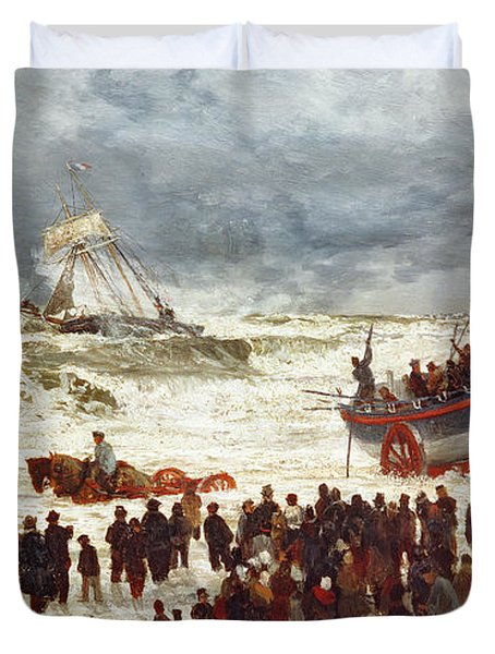 The Lifeboat Duvet Cover