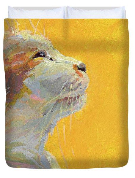 The Light Duvet Cover by Kimberly Santini
