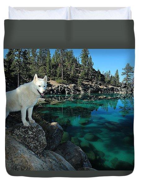 The Light Of Lake Tahoe Duvet Cover