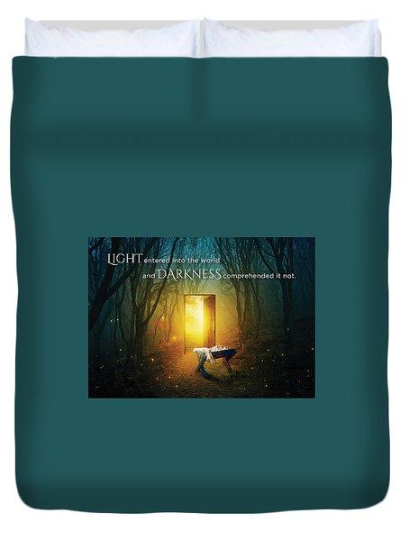 The Light Of Life Duvet Cover