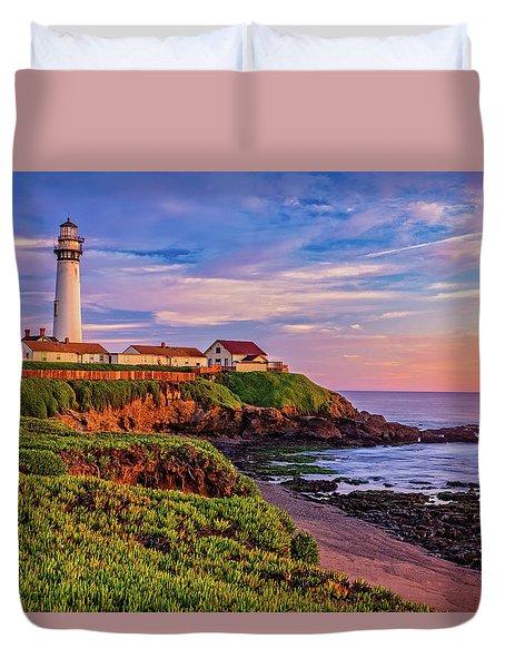 The Light Of Sunset Duvet Cover