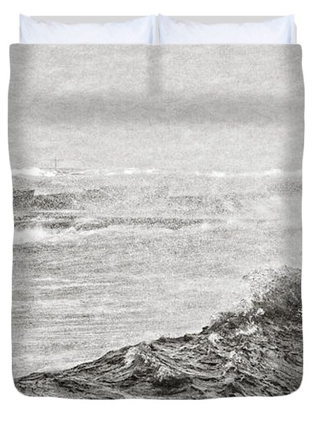 The Lighthouse Duvet Cover by Everet Regal