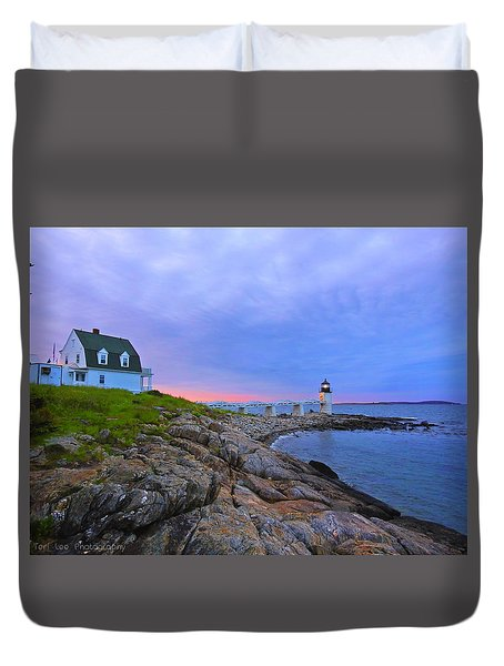 The Lighthouse Keeper Duvet Cover