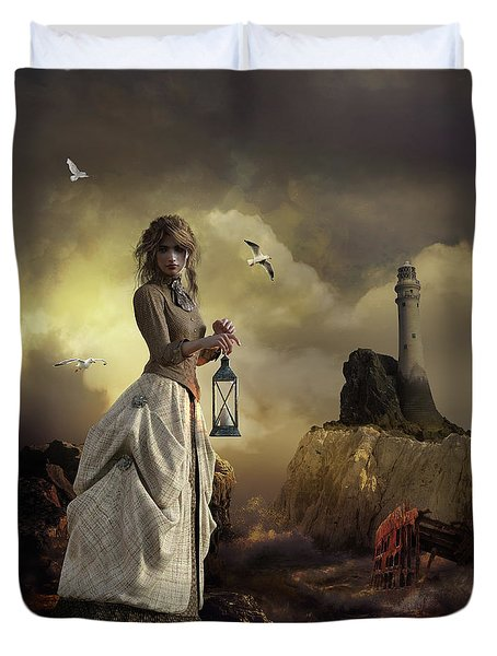 The Lighthouse Keeper's Daughter Duvet Cover