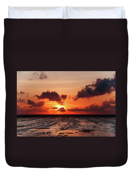 Duvet Cover featuring the photograph The Limitless Loving Devotion by Jenny Rainbow