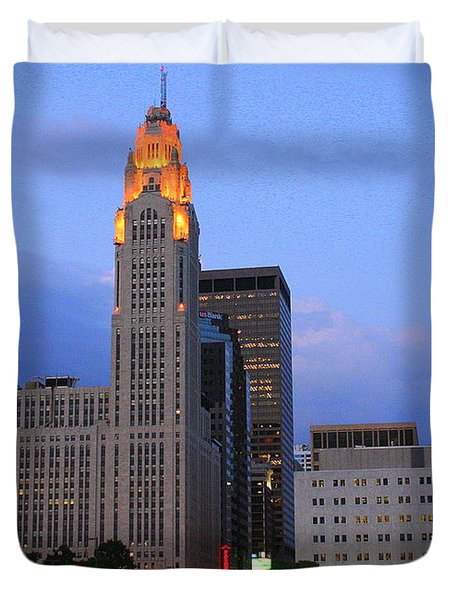 The Lincoln Leveque Tower Duvet Cover