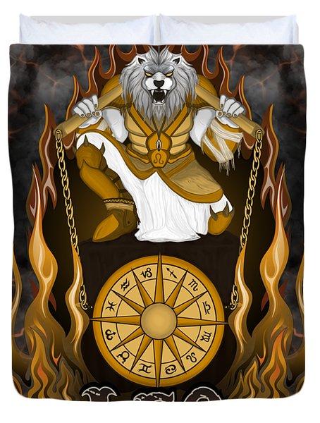 The Lion Leo Spirit Duvet Cover