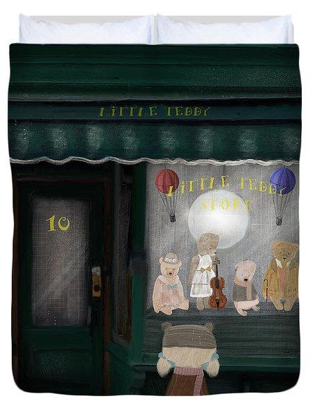 The Little Teddy Store Duvet Cover