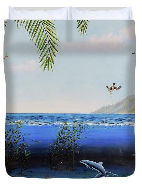 The Living Ocean Duvet Cover