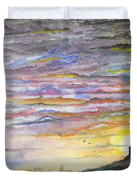 The Living Sky Duvet Cover