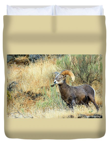 The Loner II Duvet Cover by Steve Warnstaff
