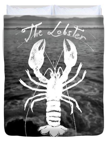 The Lobster Duvet Cover