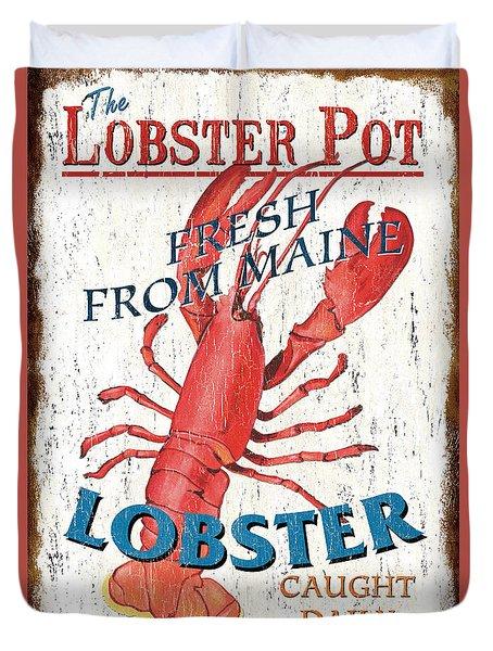 The Lobster Pot Duvet Cover