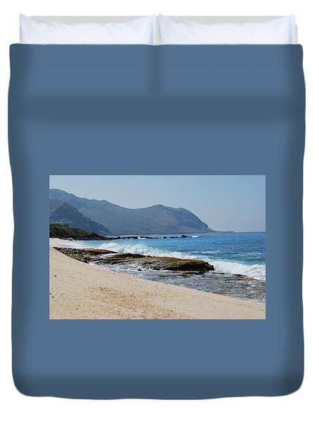 The Local's Beach Duvet Cover