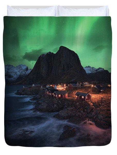 The Lofoten Dream Duvet Cover