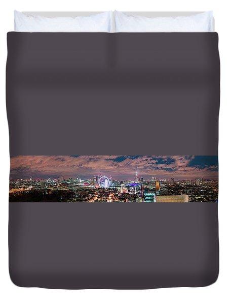 The London Skyline Duvet Cover
