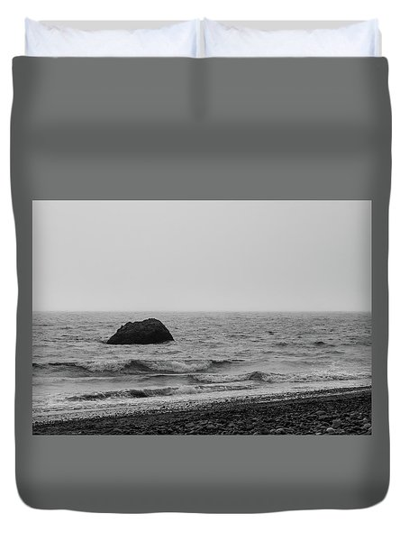 The Lone Rock Duvet Cover