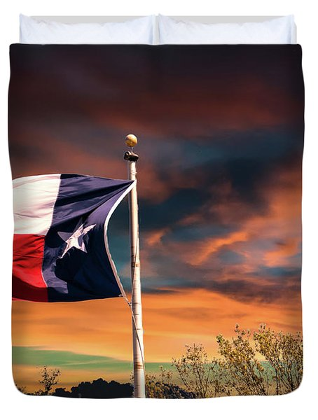 The Lone Star Flag Duvet Cover