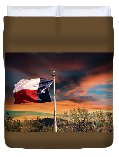 The Lone Star Flag Duvet Cover