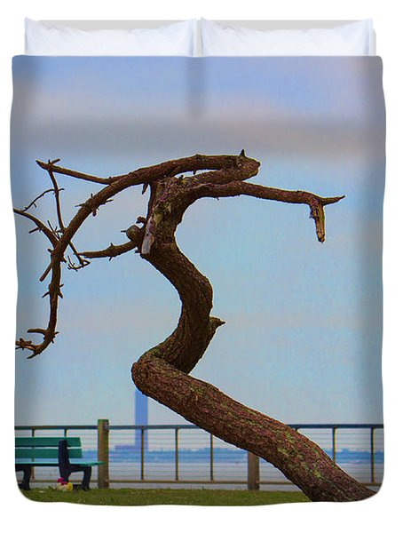 The Lone Tree Duvet Cover