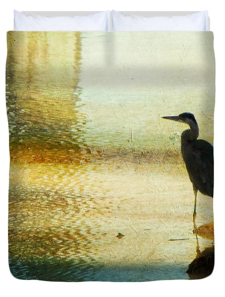 The Lonely Hunter II Duvet Cover