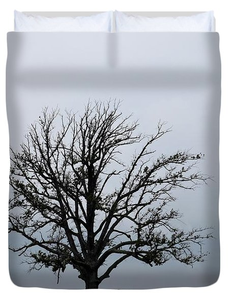 The Lonely Tree Duvet Cover