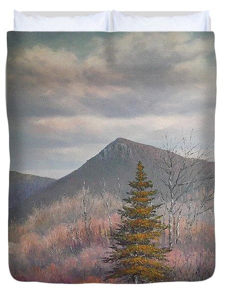 The Lonesome Pine Duvet Cover by Sean Conlon