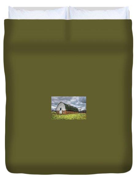 The Long Barn Duvet Cover