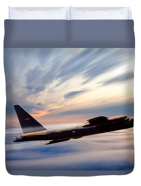The Long Goodbye Duvet Cover by Peter Chilelli