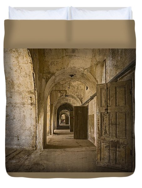 The Long Hall Duvet Cover