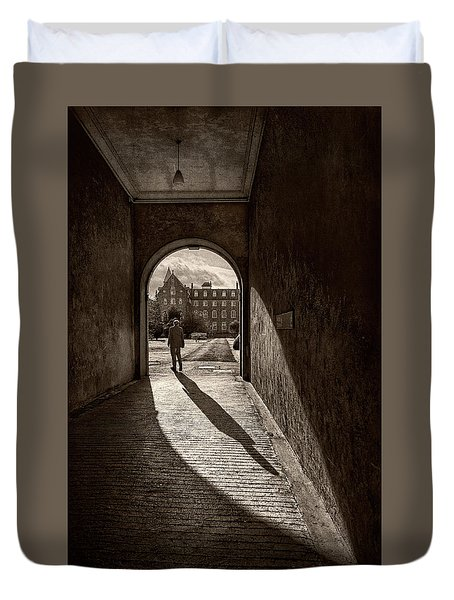 The Long Shadow Duvet Cover