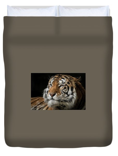 The Long Stare Duvet Cover
