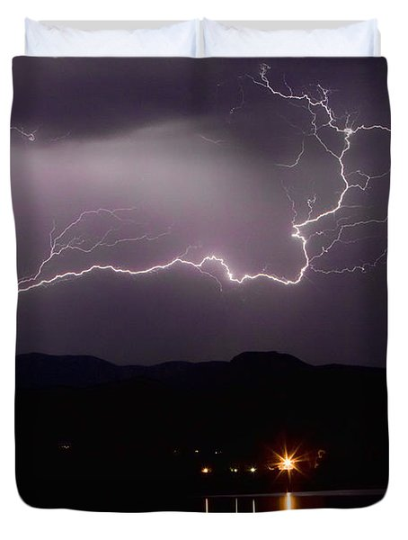 The Long Strike Duvet Cover by James BO  Insogna