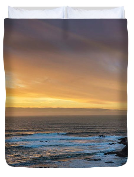 The Long View Duvet Cover by James Heckt