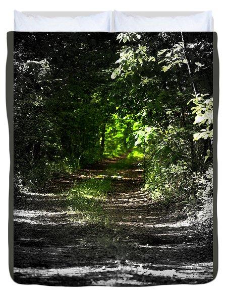 The Long Walk Duvet Cover