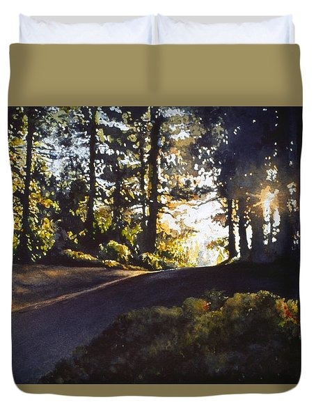 The Long Way Home Duvet Cover