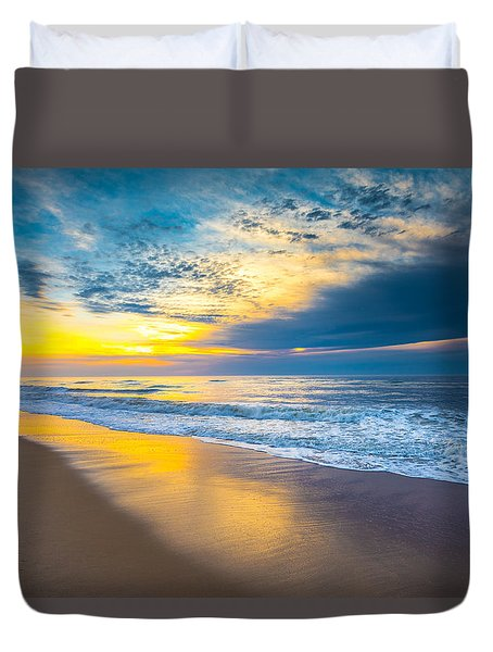 The Long Way Duvet Cover