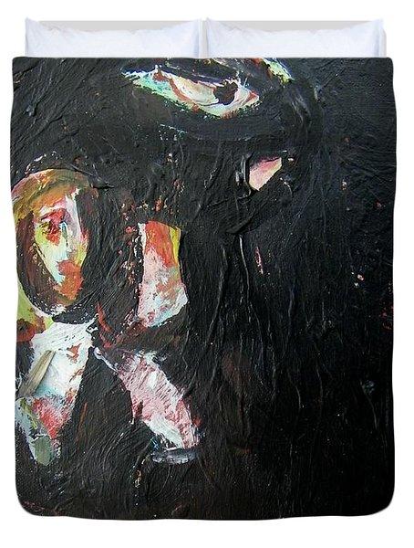 The Longest Walk Duvet Cover by Judith Redman