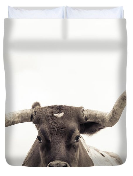 The Longhorn Duvet Cover