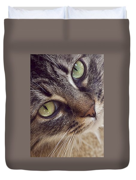 The Look Of Love Duvet Cover by Lynn Andrews