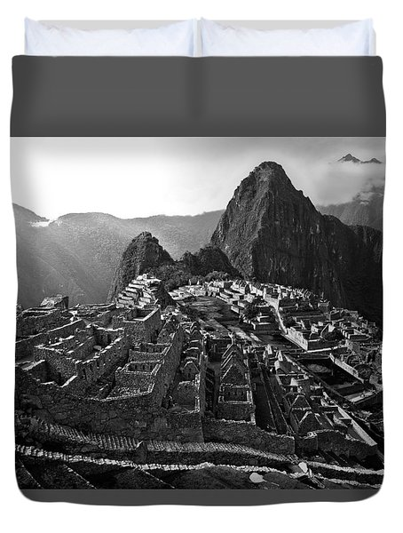 The Lost City Of The Incas Duvet Cover
